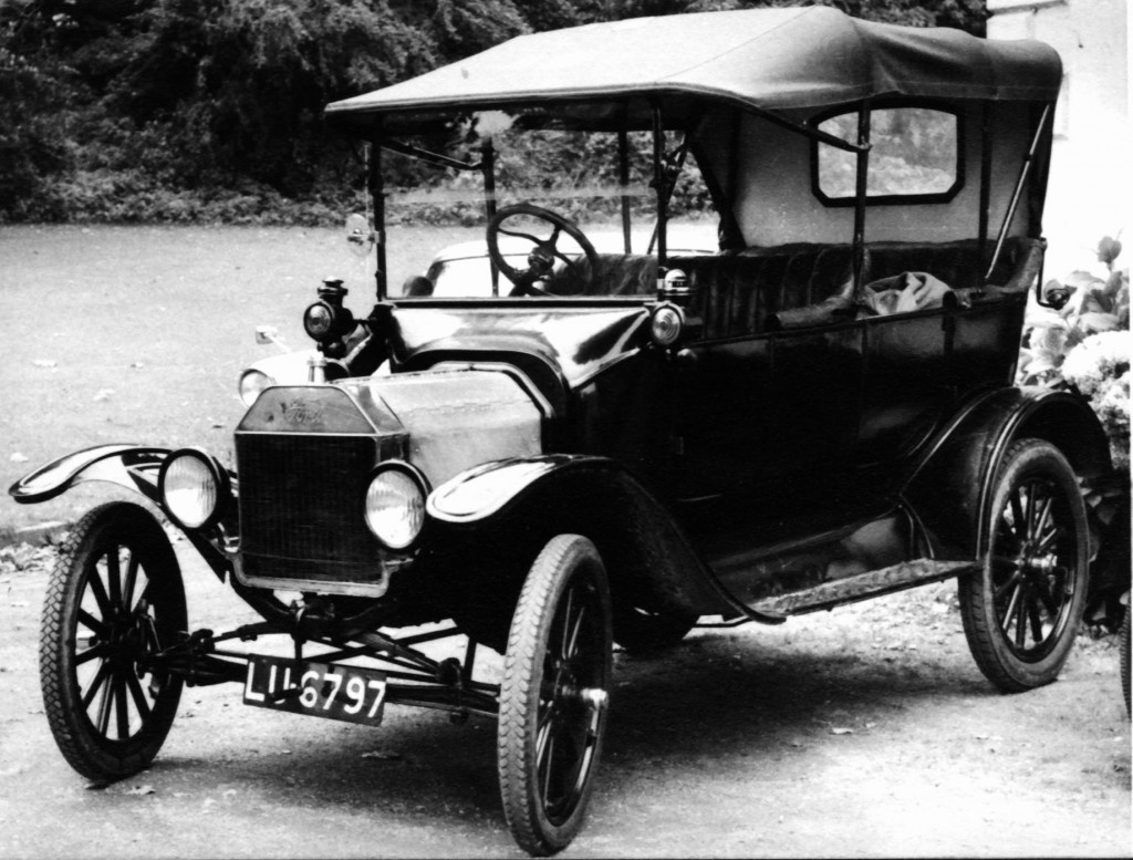 Ford Model T pagamintas ant juostinio konvejerio